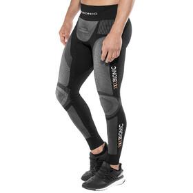 X-Bionic Windskin Running Long Pants Men Black/Anthracite